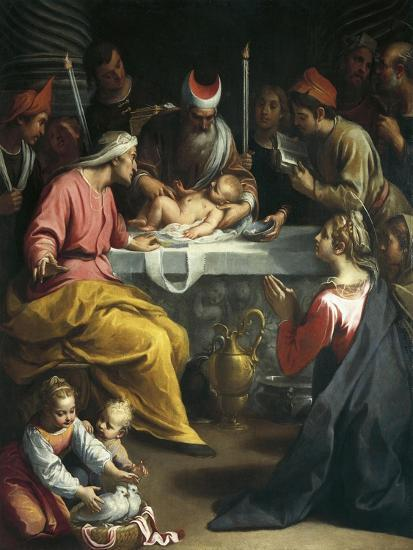Circumcision of Christ-Claudio Ridolfi-Giclee Print