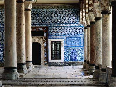 Circumcision Room's Door, Topkapi Palace-Izzet Keribar-Photographic Print