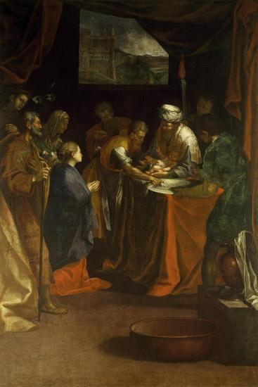 Circumcision-Federico Barocci-Giclee Print