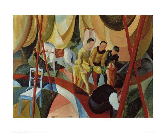 Circus 1913-Auguste Macke-Giclee Print