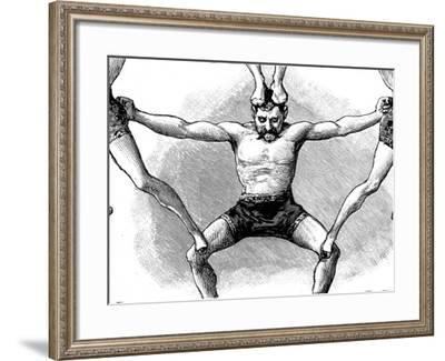 Circus Acrobat, 1888--Framed Photographic Print