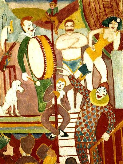 Circus Artists, 1911-Auguste Macke-Giclee Print