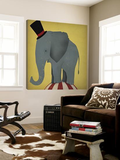 Circus Elephant-Ryan Fowler-Loft Art
