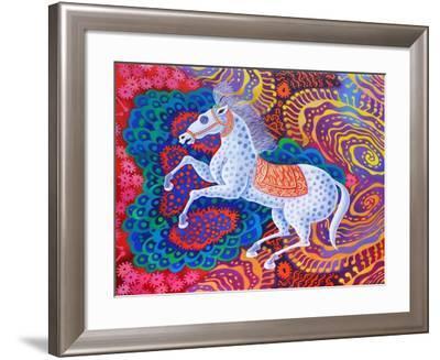 Circus Horse, 2016-Jane Tattersfield-Framed Giclee Print