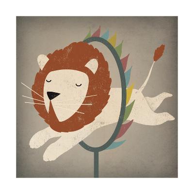 Circus Lion-Ryan Fowler-Art Print