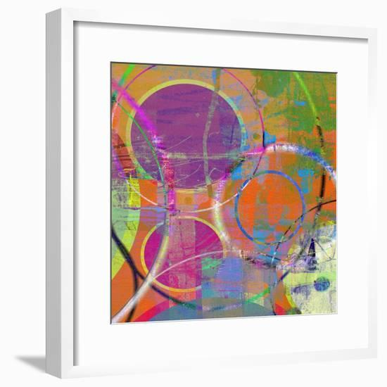 Circus Of The Sun II-Ricki Mountain-Framed Art Print