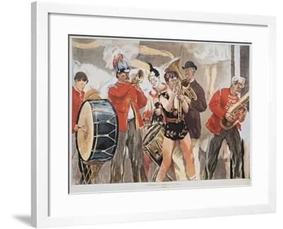 Circus Orchestra, France--Framed Giclee Print
