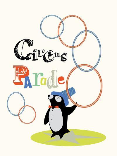 Circus Parade I-Laure Girardin-Vissian-Giclee Print