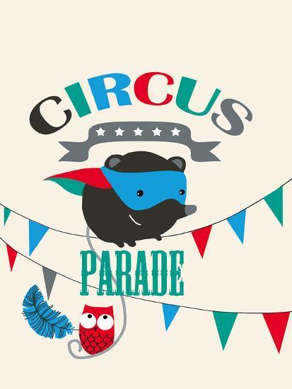 Circus Parade II-Laure Girardin-Vissian-Giclee Print
