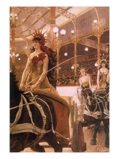 Circus Performers, 1884-James Tissot-Giclee Print