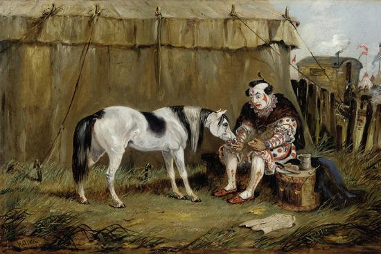 Circus, Pony and Clown-Samuel Henry Alken-Giclee Print