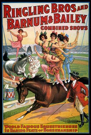 Circus Poster, 1920S