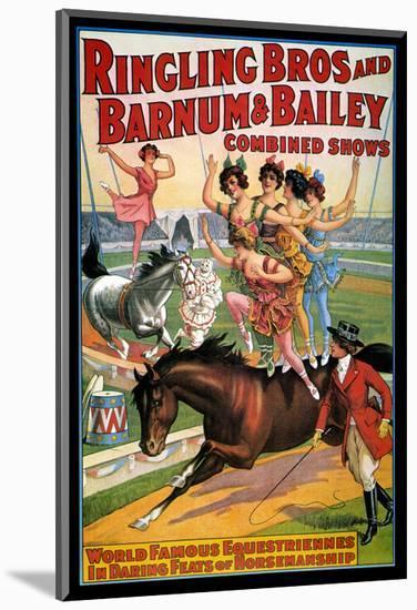 Circus Poster, 1920S--Mounted Premium Giclee Print