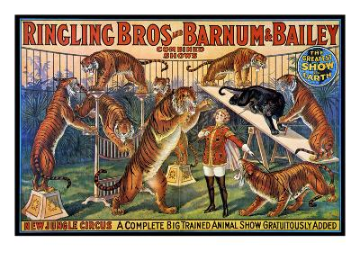 Circus Poster, 1920S--Giclee Print