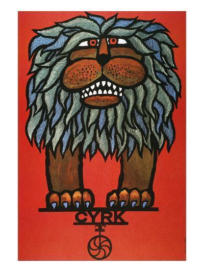 Circus Poster, 1967--Giclee Print