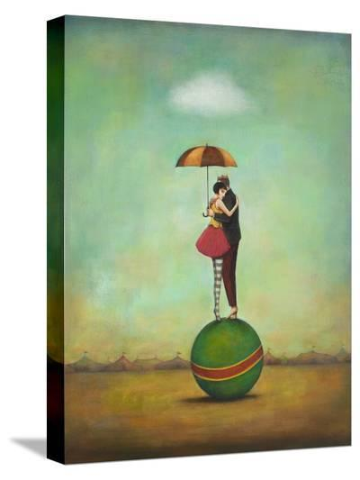Circus Romance-Duy Huynh-Stretched Canvas Print