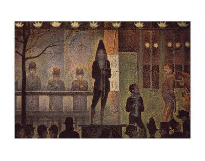 Circus Sideshow-Georges Seurat-Art Print