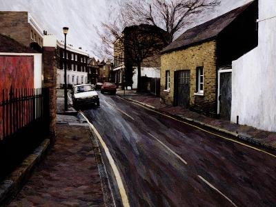 Circus Street (Next to the Cheeseboard), 2000-Ellen Golla-Giclee Print