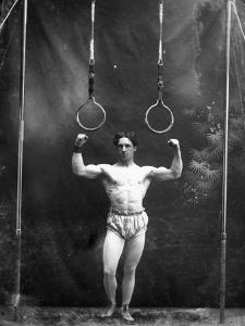 Circus Strongman, 1885