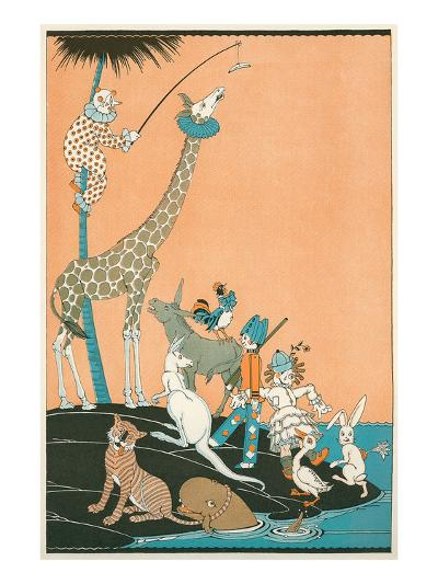 Circus Washed Up on Desert Isle--Art Print