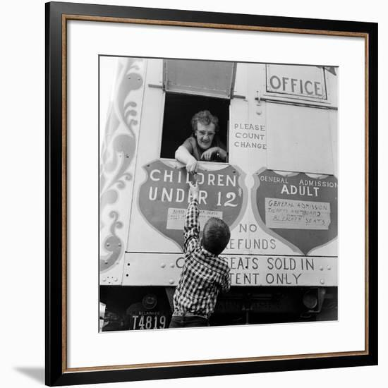 Circus-Vecchio-Framed Photographic Print