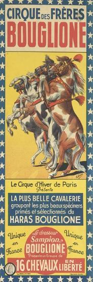 Cirque des Frères Bouglione--Giclee Print