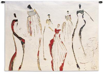 Cirque-Vivian Guy-Wall Tapestry