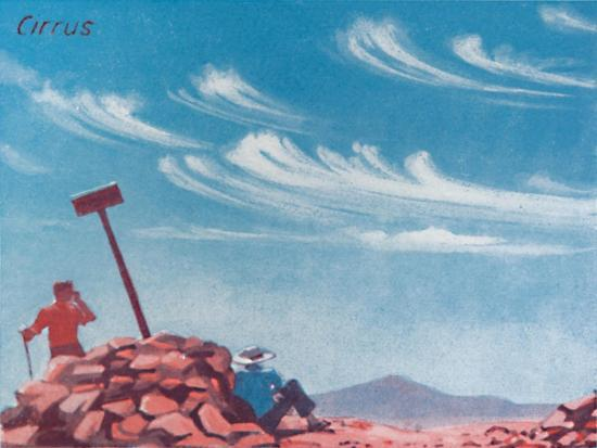 'Cirrus - A Dozen of the Principal Cloud Forms In The Sky', 1935-Unknown-Giclee Print