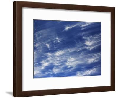 Cirrus Clouds in Santa Maria, California-Marc Moritsch-Framed Photographic Print