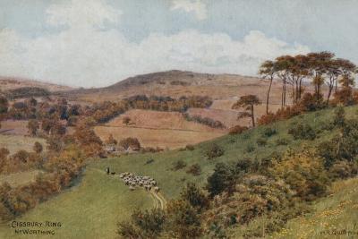 Cissbury Ring Near Worthing-Alfred Robert Quinton-Giclee Print