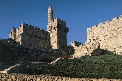 Citadel and Tower of David (Founded in 2nd Century BC)--Photographic Print