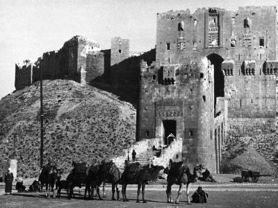 Citadel of Aleppo--Photographic Print