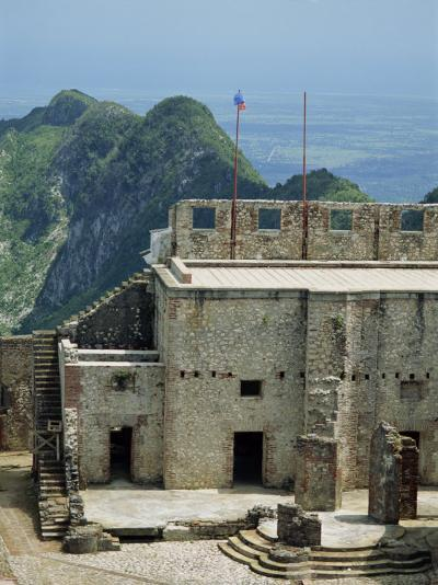 Citadelle Fort, Built in 1817, the Walls are Four Metres Thick, Milot, Haiti, West Indies-Murray Louise-Photographic Print