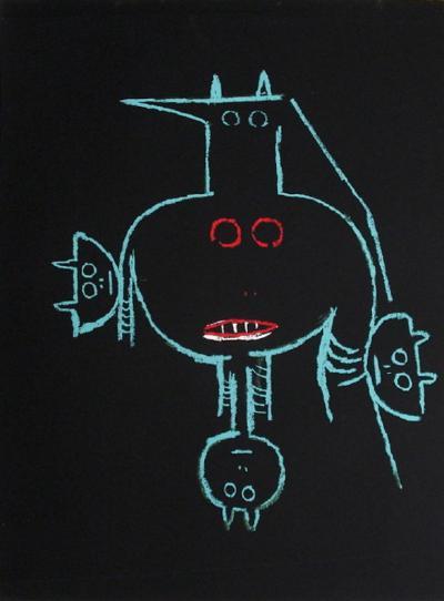 Cité Internationale des Arts-Wilfredo Lam-Serigraph