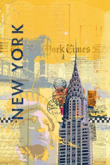 Cities I-Ken Hurd-Art Print