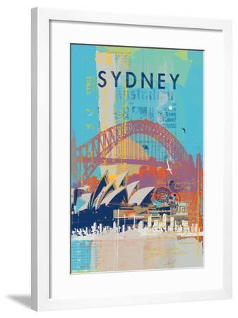 Cities V-Ken Hurd-Framed Art Print