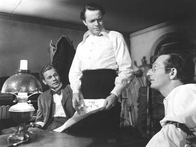 Citizen Kane, Joseph Cotten, Orson Welles, Everett Sloane, 1941--Photo