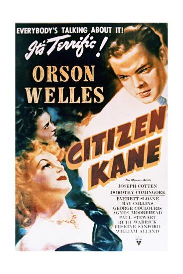Citizen Kane - Movie Poster Reproduction--Art Print