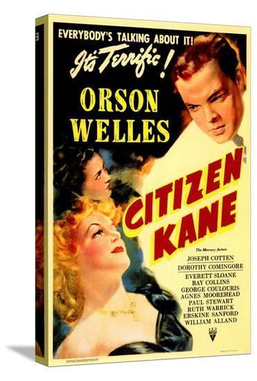 Citizen Kane--Stretched Canvas Print