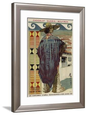 Citizen of Puebla, Mexico, 19th Century--Framed Giclee Print