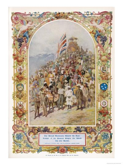 Citizens of the British Empire the Greatest Empire the World Has Ever Known--Giclee Print