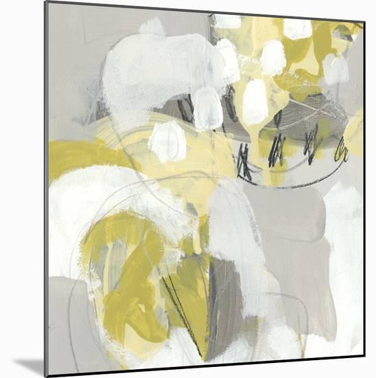 Citron Mist III-June Erica Vess-Mounted Giclee Print