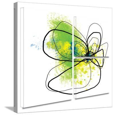 Citron Petals Gallery-Wrapped Canvas-Jan Weiss-Gallery Wrapped Canvas Set