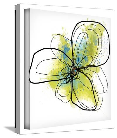 Citron Petals II Gallery-Wrapped Canvas--Gallery Wrapped Canvas