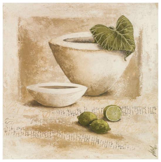 Citrons Verts-V?ronique Didier-Laurent-Art Print