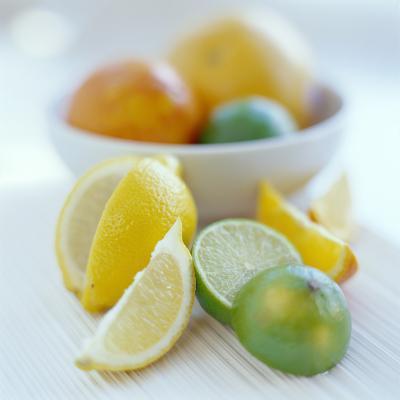 Citrus Fruits-David Munns-Photographic Print
