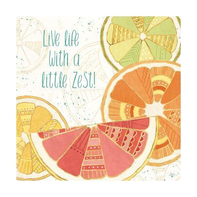 Citrus Splash II-Veronique Charron-Art Print