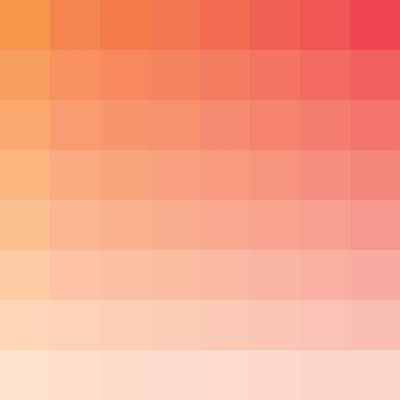 Citrus Square Spectrum-Kindred Sol Collective-Art Print