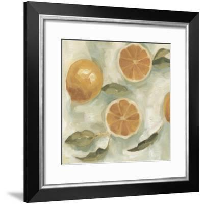 Citrus Study in Oil III-Emma Scarvey-Framed Art Print