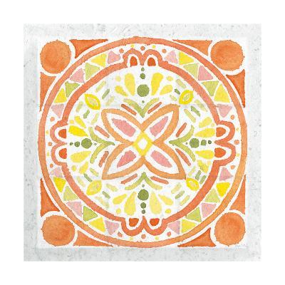 Citrus Tile I v2-Elyse DeNeige-Art Print